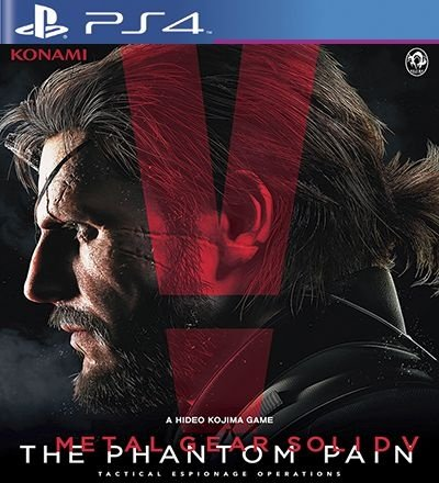 Metal Gear Solid 5 The Phantom Pain - PS4 Mídia Digital