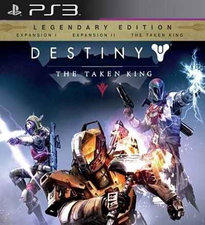 Destiny The Taken King Legendary Edition - PS3 Mídia Digital