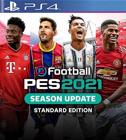 eFootball PES 2021 SEASON UPDATE OFICIAL - PS4 Mídia Digital