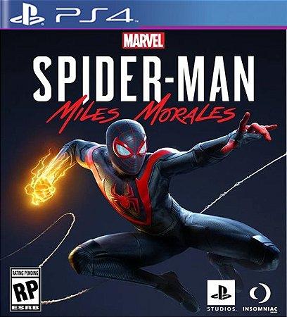 Marvels Spider-Man Miles Morales - PS4 Mídia Digital