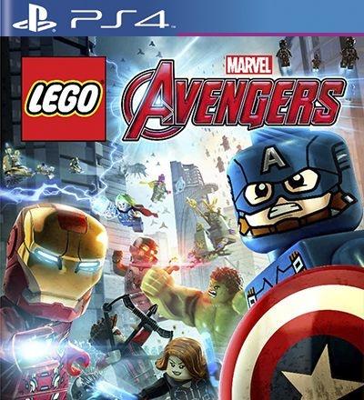 Lego Marvels Avengers Vingadores - PS4 Mídia Digital