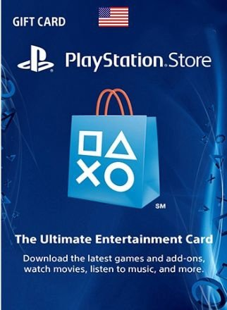 Card Psn US Dolares Cartão Playstation Ps3 Ps4 Vita