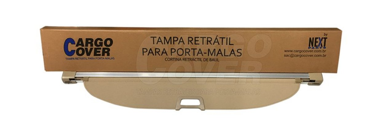 Kia SPORTAGE 2011 em diante - Tampa Retrátil do porta-malas (bege)