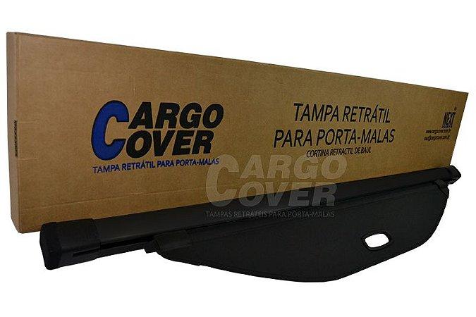Hyundai SANTA FÉ (7 lugares) 2014 a 2015 - Tampa Retrátil do porta-malas (Preta com barra de alumínio na cor preta) - SANTA FE