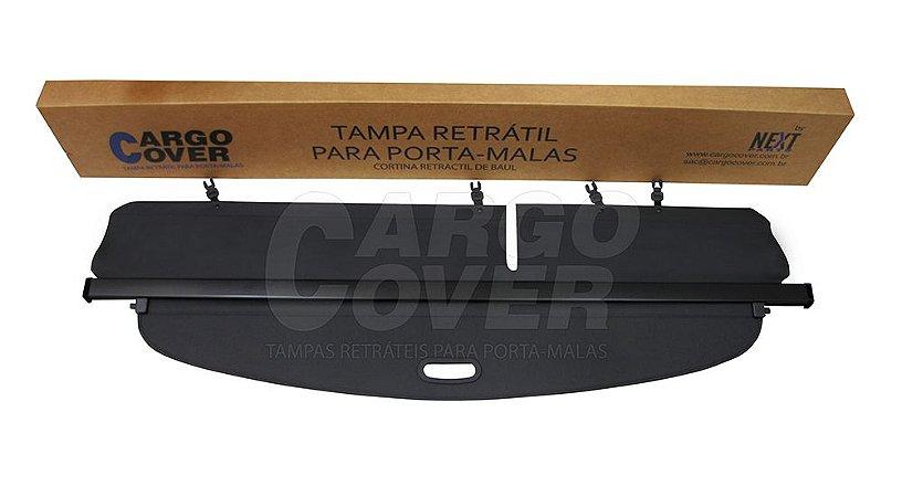 Hyundai SANTA FÉ (7 lugares) até 2012 Mod. Alternativo COM EXTENSÃO - Tampa Retrátil do porta-malas (preta) - SANTA FE