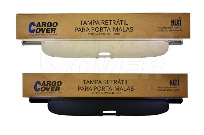 Fiat FREEMONT (7 Lug.) - Tampa Retrátil do porta-malas Mod. Alternativo (Preta ou Bege)