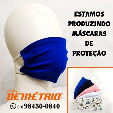 Máscara de Proteção em Algodão dupla face
