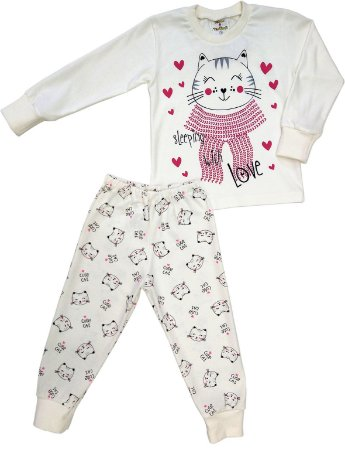 Conjunto Pijama Gatinhos - Slepping with love
