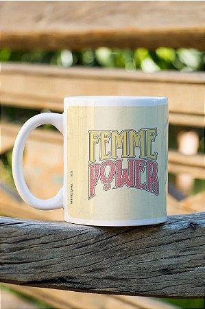 Caneca Licenciada DC Femme Power