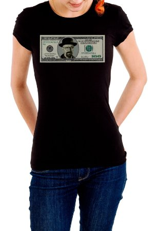Camiseta Feminina Dolar Breaking Bad