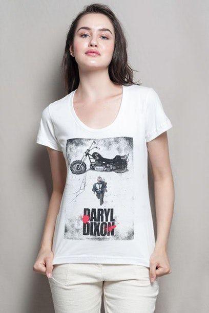 Camiseta Feminina Daryl Dixon