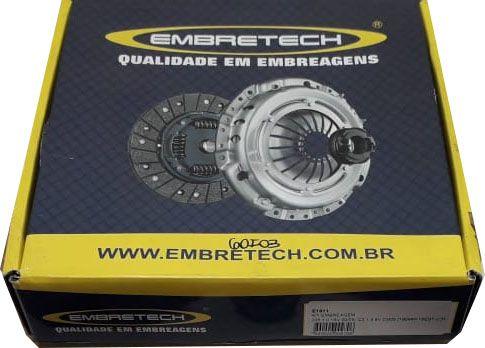 Kit Embreagem Peugeot 306 / 405 / 406 / 605 2.0 16V 94 / .. Evasion / Xantia / Zx / Xsara 2.0 16V ( Plato de Puxar ) Diametro 215 Estrias 18 - CEB1605