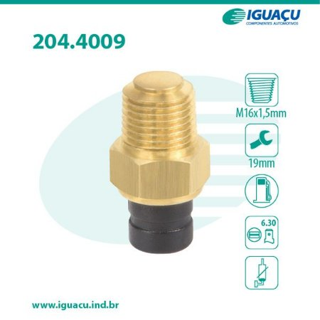 Sensor de Temperatura Partida a Frio Elba / Fiorino / Premio / Uno - CIG4009