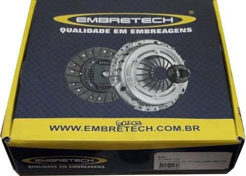 Kit Embreagem Fit 1.4 04 / 09 Diametro 190 Estrias 20 - CEB1009