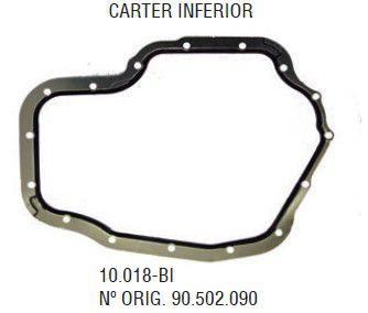 Junta Inferior do Carter Vectra 97 / ... 8V e 16V - CSS10018BI