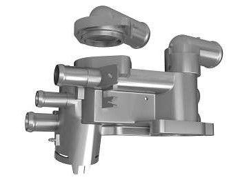 Flange Aluminio Fox 09 / ... 1.0 1.6 / Polo 02 / ... 1.0 1.4 / Spacefox 1.6 Flex - CVC173AL