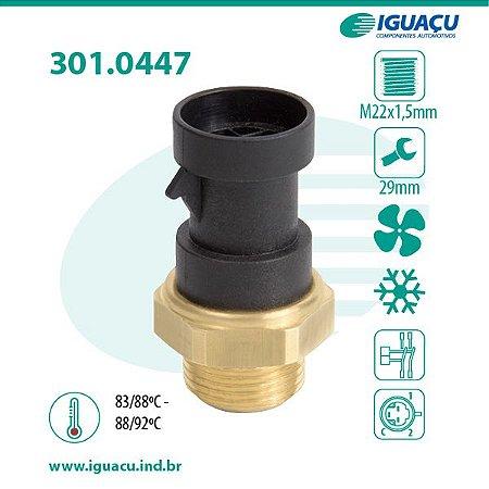 Termo Interruptor do Radiador ( Cebolao ) Brava 1.6 16V 92 / Jumper / Boxer - CIG447