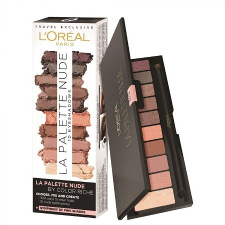 Paleta de Sombra L'oreal Color Riche Nude Rose