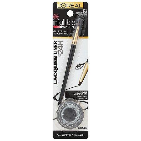 Lápis de olho L'Oreal Paris Infallible Lacquer Eyeliner