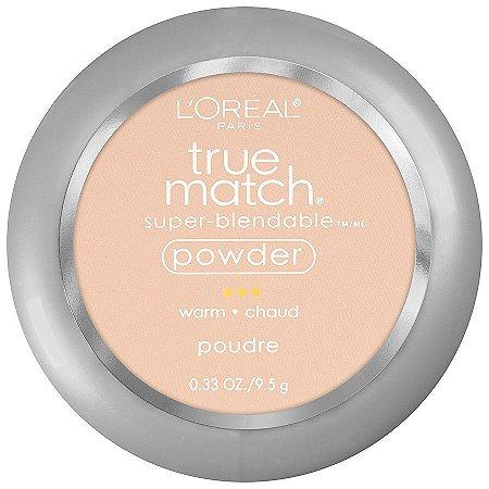 Pó Compacto True Match L'Oréal Tons Quentes