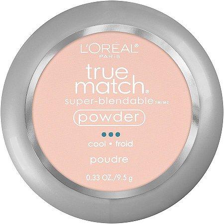 Pó Compacto True Match L'Oréal Tons Frios