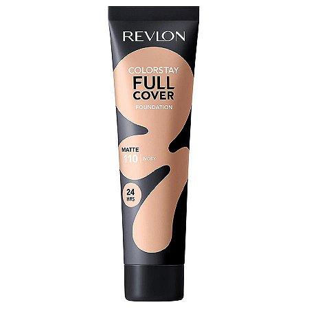 Base Líquida Revlon Colorstay Full Cover Matte Tons Claros