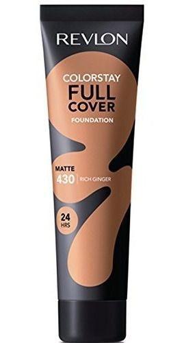 Base Líquida Revlon Colorstay Full Cover Matte Tons Escuros