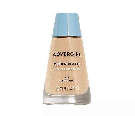 Base Líquida COVERGIRL Clean Matte Makeup