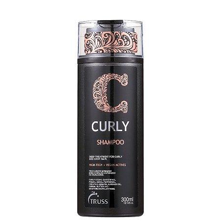 Shampoo Curly Truss para cabelos cacheados 300ml