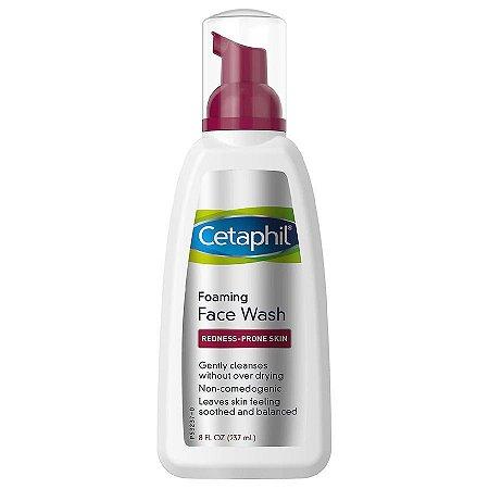 Sabonete de espuma facial para vermelhidão Cetaphil 237ml