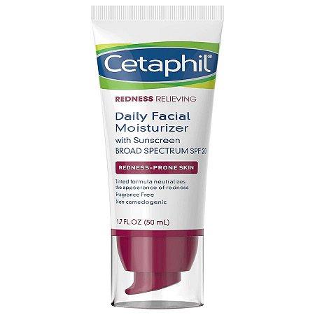 Hidratante facial controle de vermelhidão Cetaphil 50ml