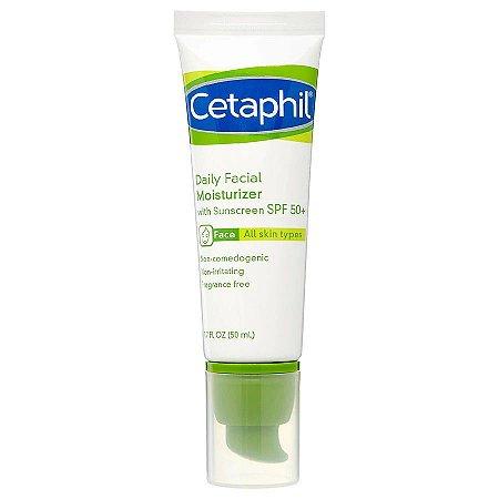Hidratante facial sem fragrância SPF50 Cetaphil 50ml