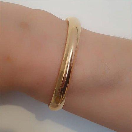 Bracelete Aberto Grosso Liso