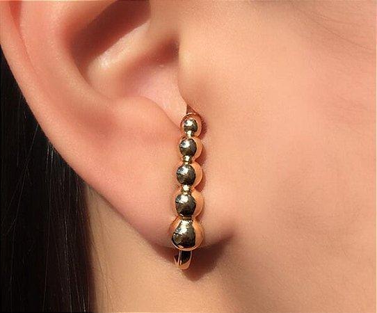 Ear Hook Esferas Degrade