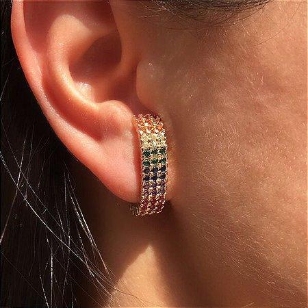 Ear Hook Rainbow