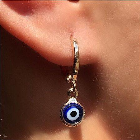 Argola Pequena Olho Grego