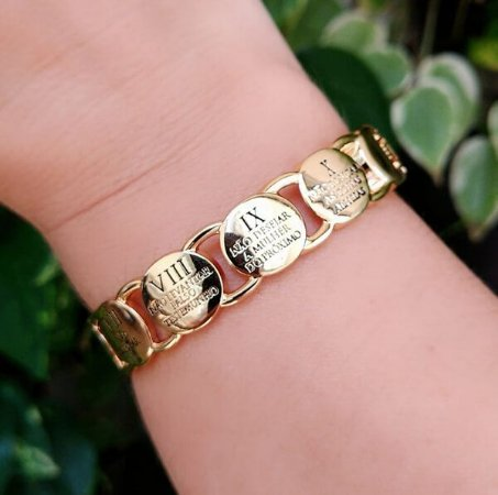 Bracelete 10 Mandamentos