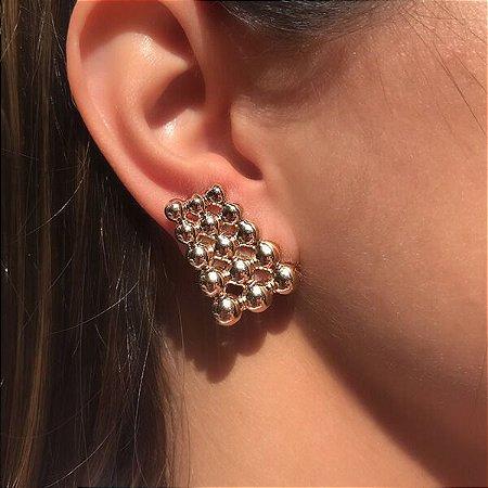 Ear Hook Triplo Bolinhas