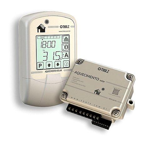 Controlador Solar Mtz1260n Tholz Apoio A Gás E Elétrico