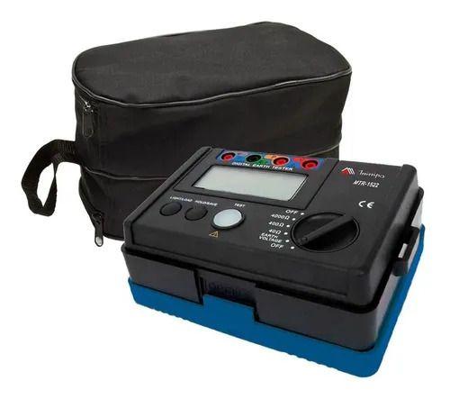 Terrômetro Digital Mtr-1522 Minipa com Bolsa para Transporte