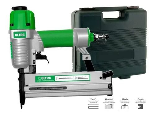 Grampeador Pinador Pneumático Airfix + Grampo 90/35 9.870un