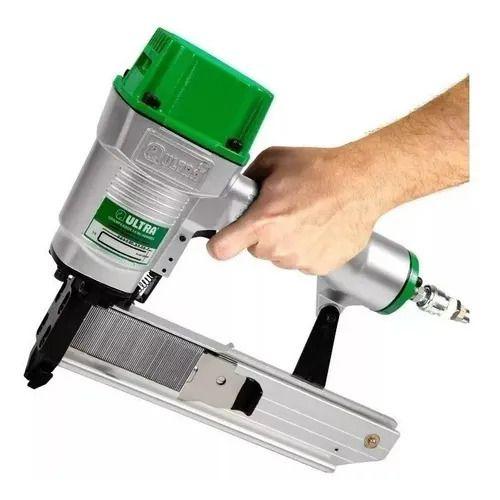 Grampeador Pneumático Hammer Ultra + 3.910 Grampos 14/38mm