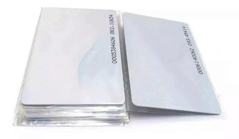 CARTÃO DE PROXIMIDADE RFID ISO 125khz 50 Un - DIPONTO