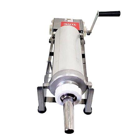 Masseira Máquina de Fazer Churros Inox 2l Malta com Moldes
