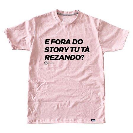 Camiseta Feminina Tu tá Rezando ref 227