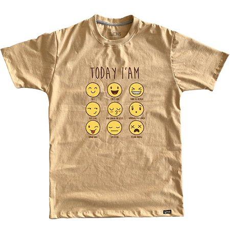 Camiseta Feminina Status Emoji ref 229