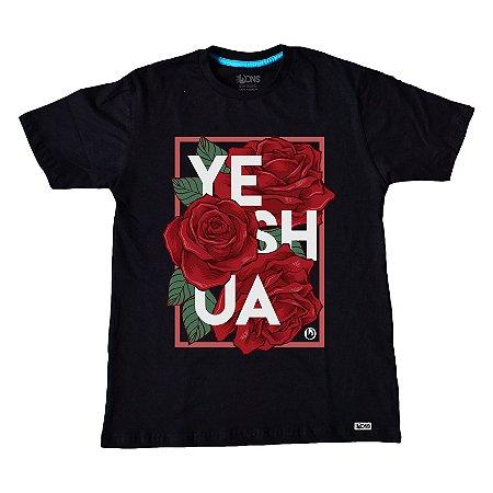Camiseta Yeshua Floral ref 193