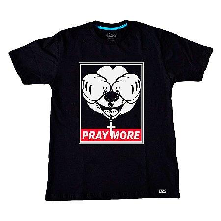 Camiseta Pray More ref 152