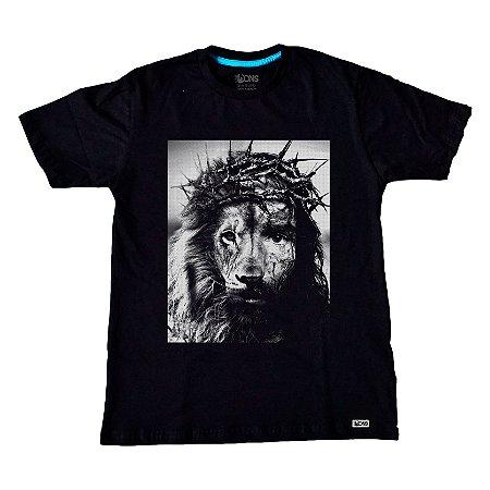 Camiseta Jesus é o Leão ref 132