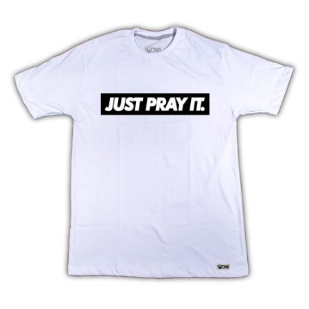 Camiseta Just Pray It ref 134